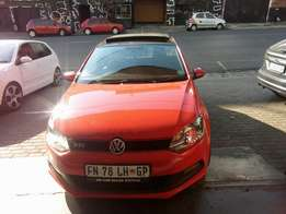 2013 Polo 6 GTI 1.4, Color Red, Prince R208,000.
