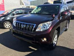Toyota prado dirk wine red kcl 2010