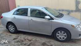 6 months used Tokunbo Toyota Corolla 2010