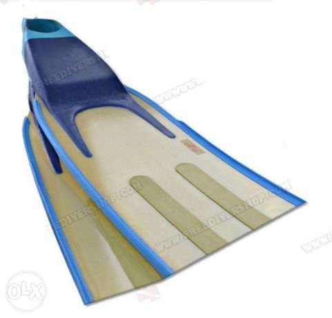 WaterWay Short Pro Swimming and freediving Fins Size 41/43