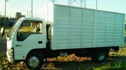 Isuzu NKR Lorry With AGRO Built Cargo Body