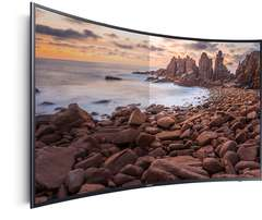 new 55 inch samsung smart 4k uhd smart tv curved series 7 55ku7350 shp