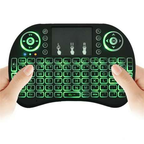 acklit Rii i8 Air Mouse Mini Wireless Keyboard Touchpad Remote Control Nairobi CBD - image 2
