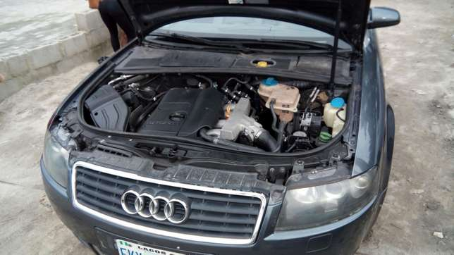 Smooth Driving Registered 2004 Audi A4 1.8T Convertible In Good Condit Lekki - image 6