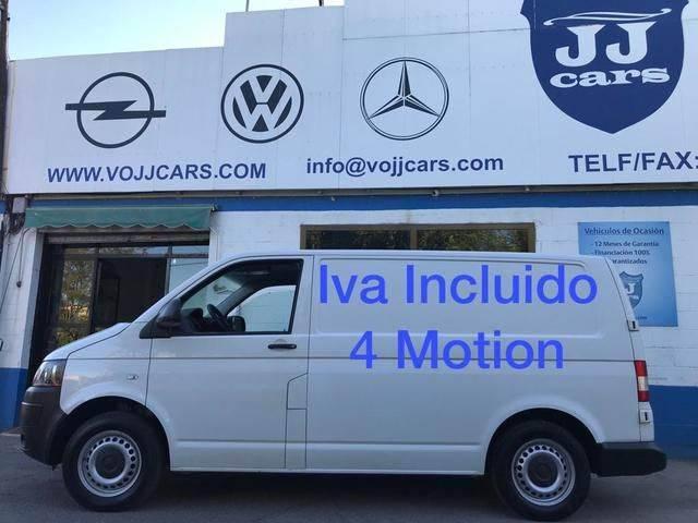 Volkswagen Transporter Furgón Pro 2.0tdi Bmt T. Normal 4m 140 - 2014