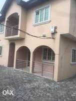 A year old built 6 bedroom duplex to let at Addo road, Ajah Lekki