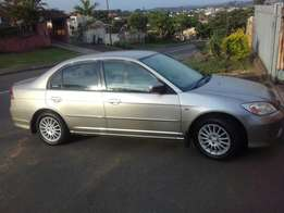 2004 Honda Civic V-Tec 1.7i Sedan for sale R42 000