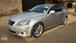 Foreign Used 2006 Lexus IS 350 With Auto drive Leather Cold AC Alloy