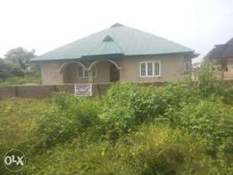 Very super 4bed room bungalow with security house for sale at oroki