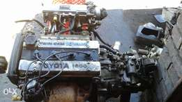 Toyota twincam 16v 4age enjin with gearbox for sale
