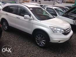 Honda CRV 2010 white leather 2400cc KCN