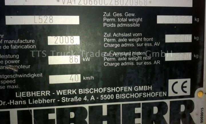 Liebherr L 528 (kein 524/538) Auch Mit Schnellwechsler Ra - 2008 - image 14