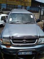 Toyota Hilux d/c stripping for spares