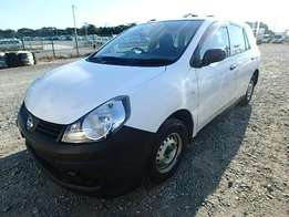 Nissan AD Van 2009 model automatic transmission white color