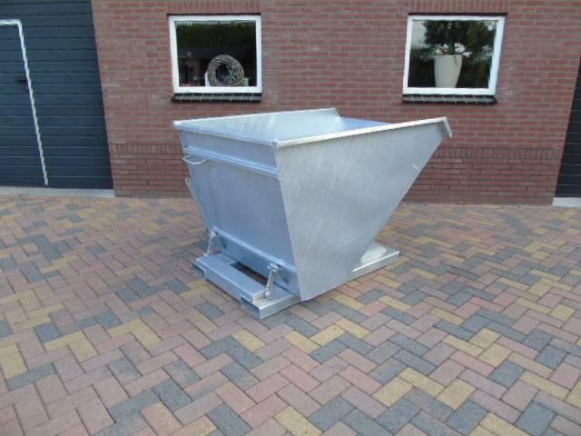 NDH Kiepbak Kantelbak Afvalcontainer Heftruck Shovel - 2018