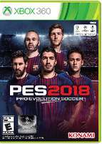 Pes 2018 for Xbox360 RGH