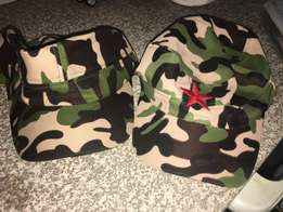 2 Army Hats for the price of one