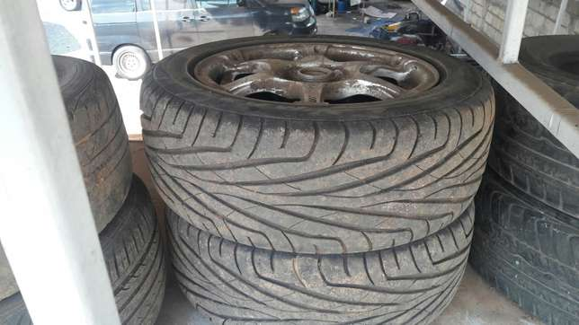Rims & used tires -15' Roysambu - image 2