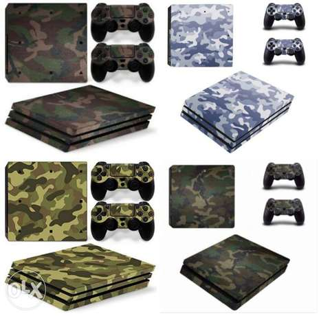 Ps4 slim pro army skin delivery available