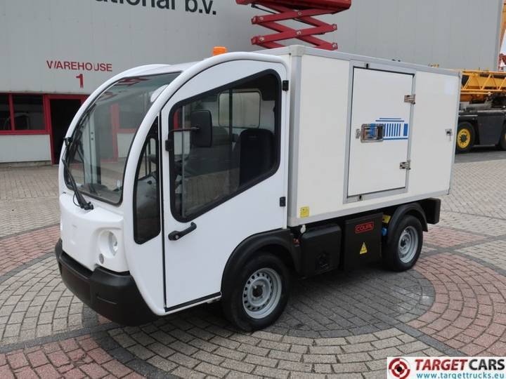 Goupil G3 Electric Closed Box Freezer UTV Utility Vehicle - 2012