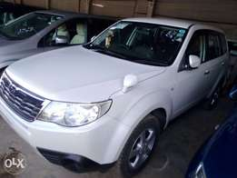 Pearl white Executive Subaru forester fully loaded low mileage