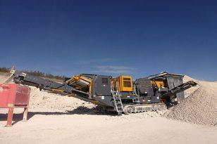 Fabo Tracked Jaw Crusher
