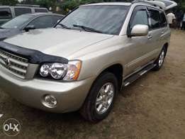 Toyota Highlander 2004 direct Belgium