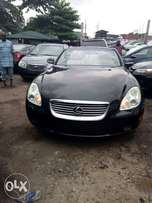 Very sharp and clean tokunbo Lexus SC 430 convertable 05 full option