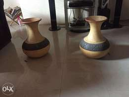 2 Ghana Decoration Pots
