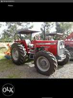 Brand new Massey Ferguson 385 4wd plus 4 disk plough.