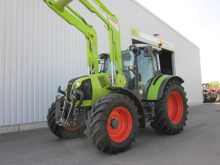 Claas arion 460 cis+ panoramic, frontlader fl 120, fkh + fzw - 2016