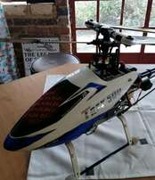 Trex 500 Flybar helicopter