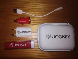 Jockey Powerbank and Travel Power Kit