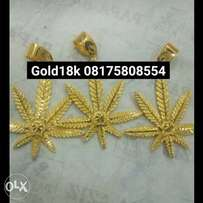 Real gold 18carat different designs, available for sale. Call me on th