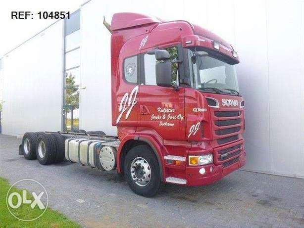 Scania R560 Soon Expected 6x4 Chassis Manual Euro 5 - To be Imported Lekki - image 1
