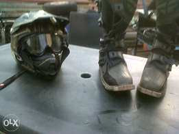 Off/road helm+boot's for sale