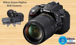 Nikon D5300 24.2 MP CMOS Digital SLR camera