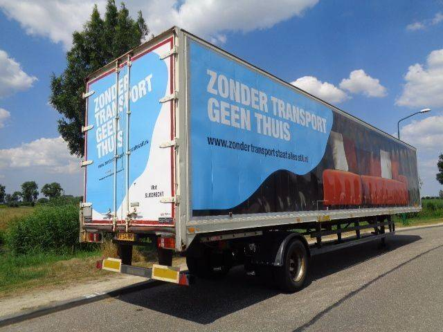 Spier 1-Axle City Box / Steering / 13.60 M / SAF / NL Trailer - 1994