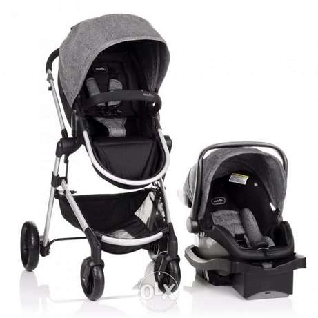 stroller with car seat for sale - very good condition stage o