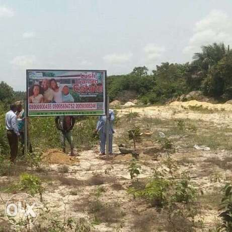 Buy a plot in a private owned estate land. Buy and be at peace. Ibeju - image 2