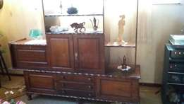 Very solid wood tv cabinet for sale- Amalinda-East Lo