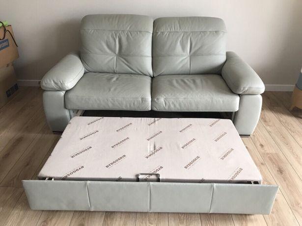 Sofa Z Funkcją Spania Ze Skóry Naturalnej Meble Bydgoskie