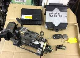 Jaguar S type ECU lockset R4500
