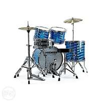 improved Premier drum kit