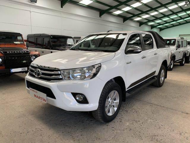 Toyota Hilux Cabina Doble Vxl - 2017
