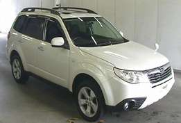Subaru Forester new shape with sunroof