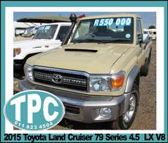 2015 Toyota LAND CRUISER -79 Series 4.5 LX V8 - SPECIAL REDUCED Price!