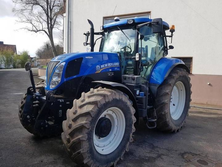 New Holland t7.210 auto commant - 2012