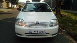 2002 Toyota Corolla 1.8 Exclusive A/t
