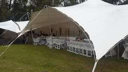 Stretch tents for sell and hire
